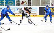 Молодежная сборная РК по хоккею в матче с Германией