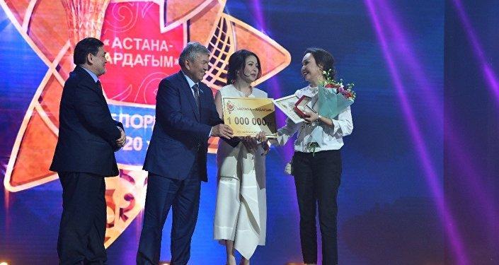 Астана – ардағым сыйлығымен марапаттау салтанаты