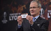 Процедура жеребьевки первой стадии плэй-офф Лиги Европы
