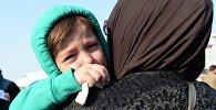 Сирияда құтқарылған адамдар