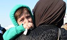 Встреча спасенных в Сирии российских детей, архивное фото