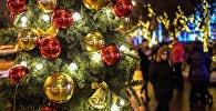 Жаңа жылдық иллюминация