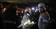 Әкім түні бойы шахтада болған: 154 адам кенжардан шықты
