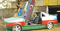 Әзербайжан азаматы қанатты пырақтан кем түспейтін спорттық көлік құрастырды
