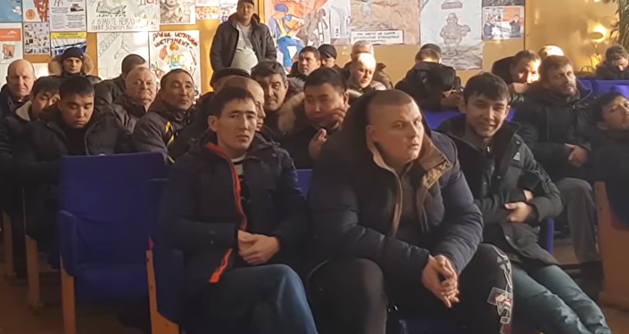 Репортаж Азамата Ергали о ситуации в Шахтинске, где бастуют шахтеры