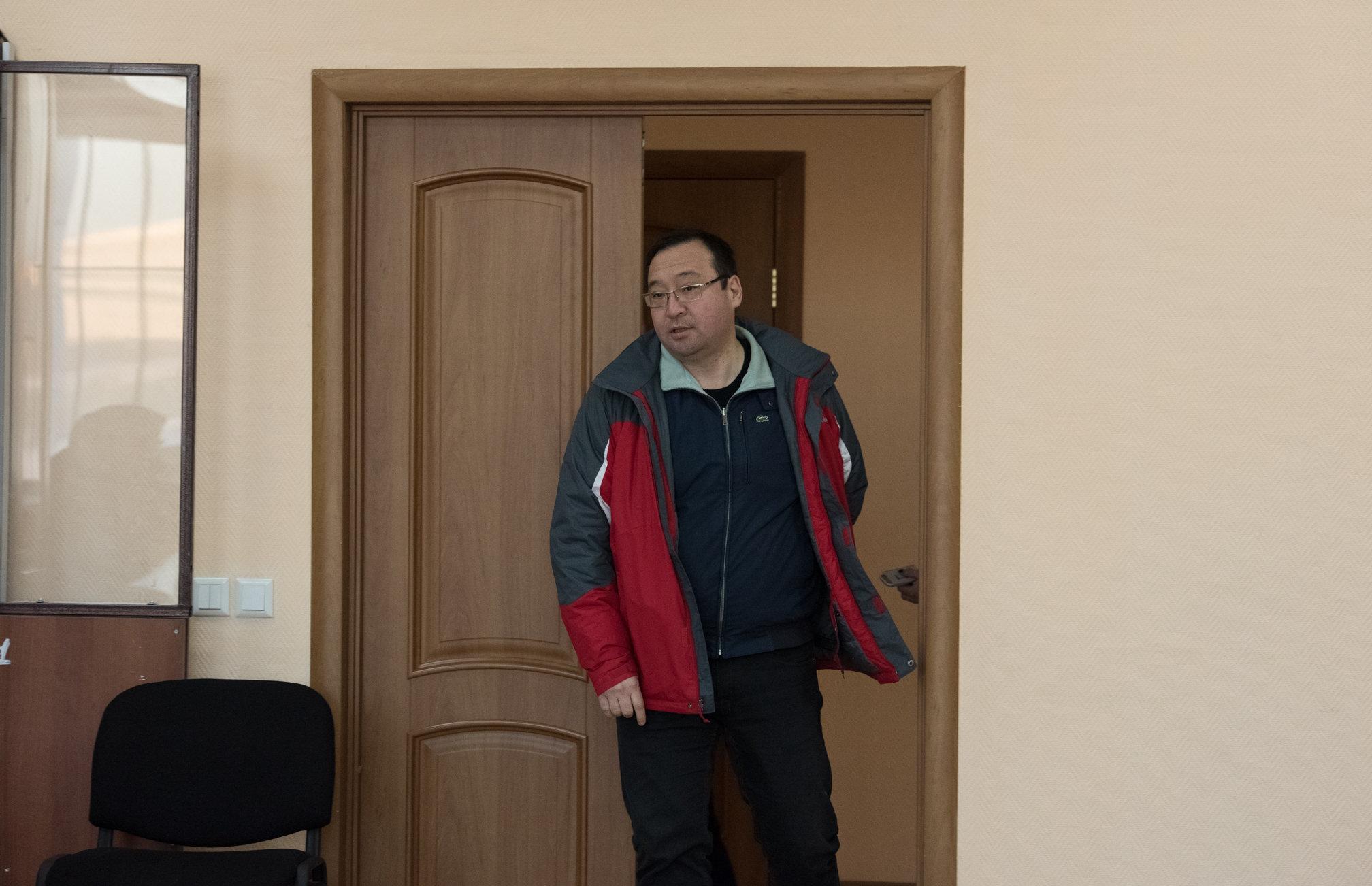 Экс-директор столичного филиала АО Евразийский банк Мурат Муканов