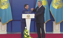Чемпион против президента: Назарбаев поборолся с Ушкемпировым