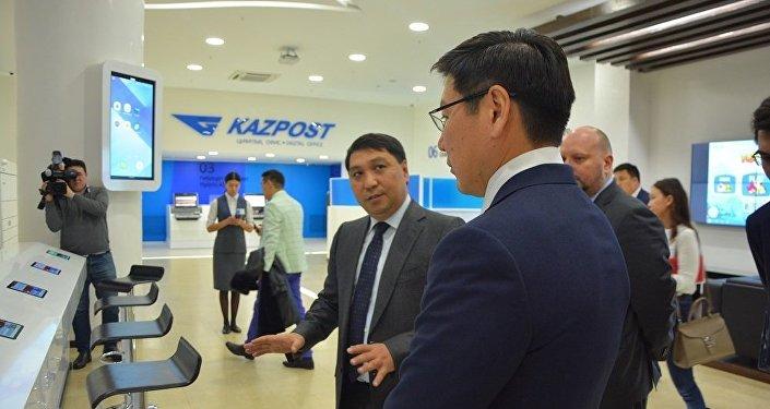 Первый цифровой офис Казпочты открылся в Астане
