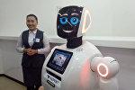 Қазпоштада жұмыс істейтін робот