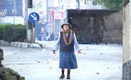 Бабушка в Вифлееме