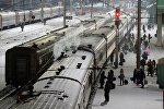 Пассажирские поезда, архивное фото