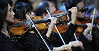 Симфонический оркестр, архивное фото