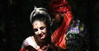 Участники фестиваля индийской культуры