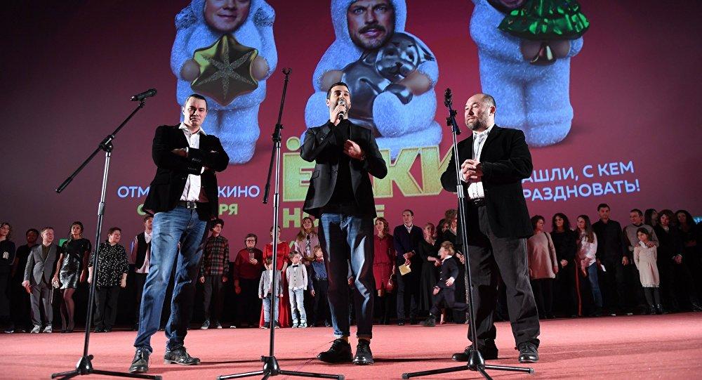 Премьера фильма Ёлки новые в Москве