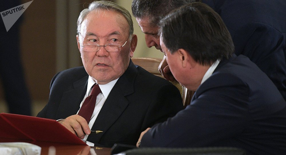 Қазақстан президенті Нұрсұлтан Назарбаев, архивтегі сурет