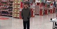 Десятилетний мальчик-аутист Калум Кортни исполняет песню Who's Lovin You
