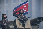 Военнослужащие армии КНДР, архивное фото