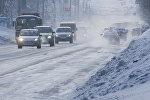 Автомобили зимой, иллюстративное фото