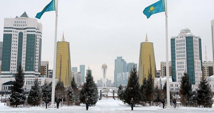 Астана, вид из Акорды