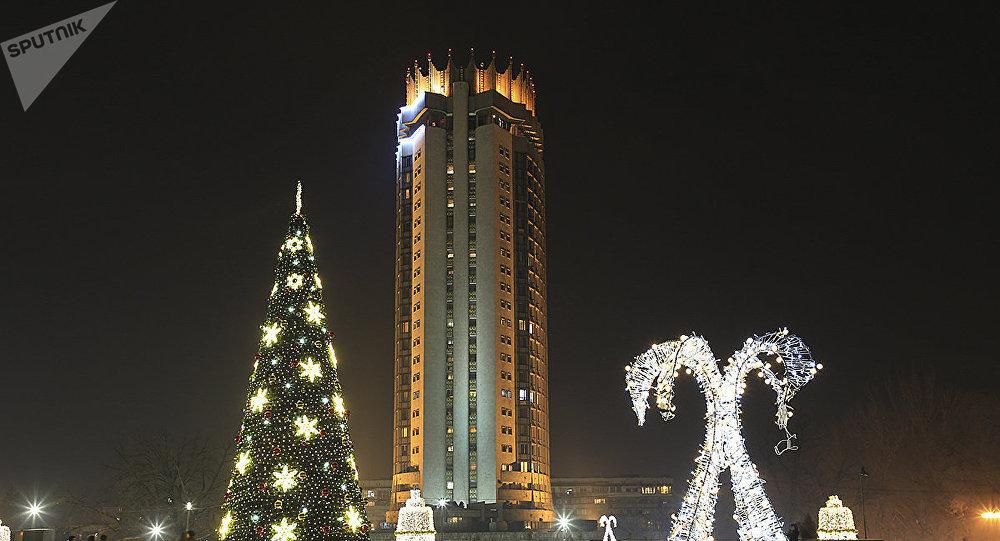 Новый год в Алматы