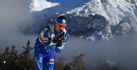 Алексей Полторанин во время Тур де Ски