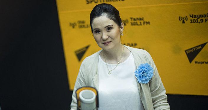 Руководитель бишкекской клиники косметологии и пластической хирургии Айнура Сагынбаева