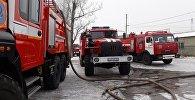 Пожарные автомобили, архивное фото