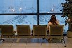 Задержка авиарейсов в аэропорту