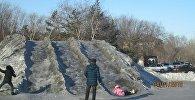Черный снег выпал в Темиртау