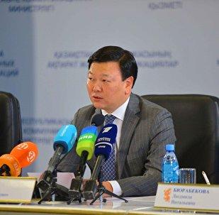 Денсаулық сақтау вице-министрі Алексей Цой