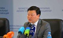 Денсаулық сақтау министрі Алексей Цой
