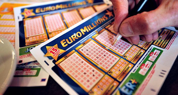 Лотерейный билет EuroMillions