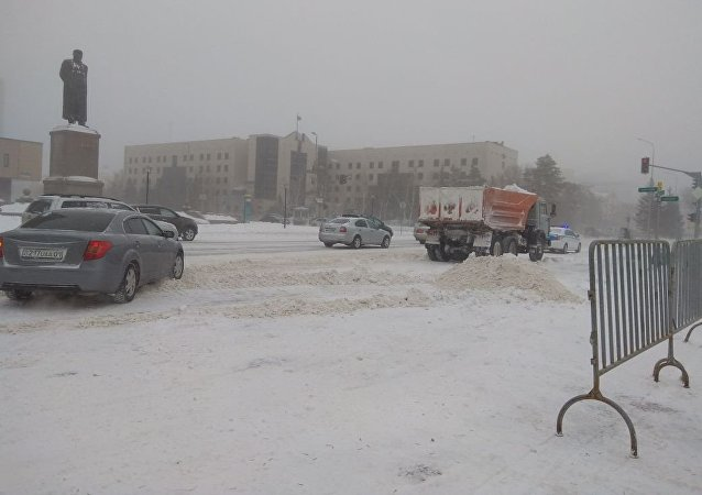Снегоуборочная техника в Астане