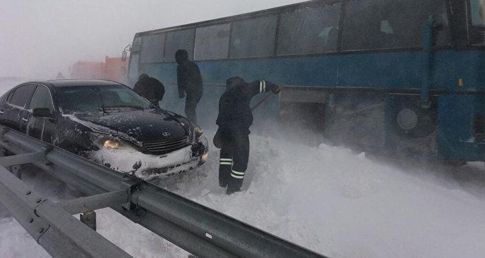 Трасса Астана-Караганда