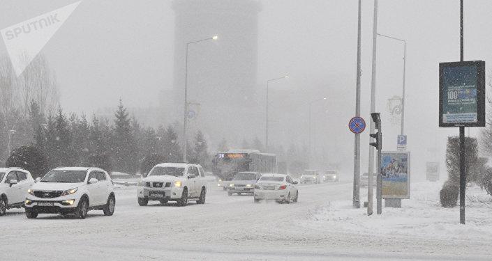 Астанадағы бұрқасын