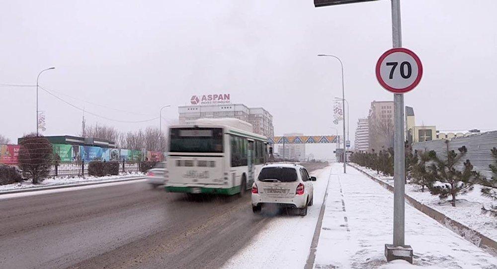 Улица в Шымкенте