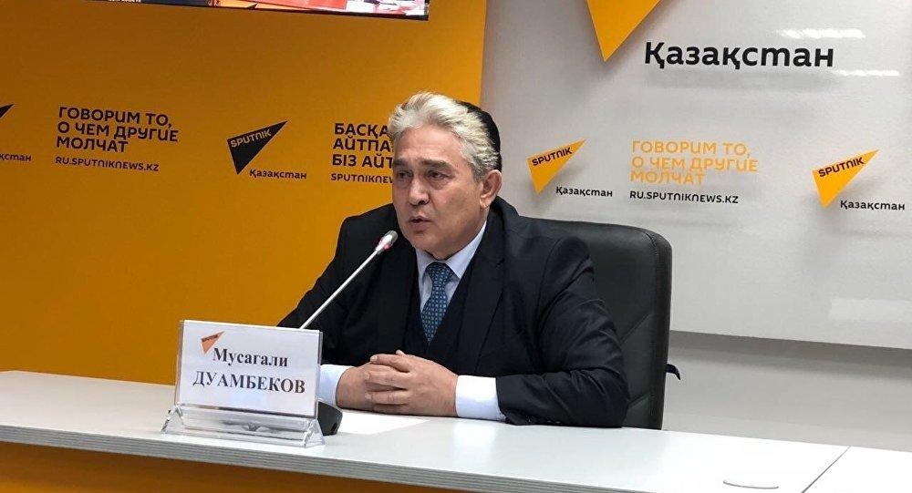 Президент Международной академии экологии, доктор технических наук, профессор Мусагали Дуамбеков