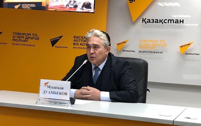 Президент Международной академии экологии, доктор технических наук, профессор Мусагали Уамбеков