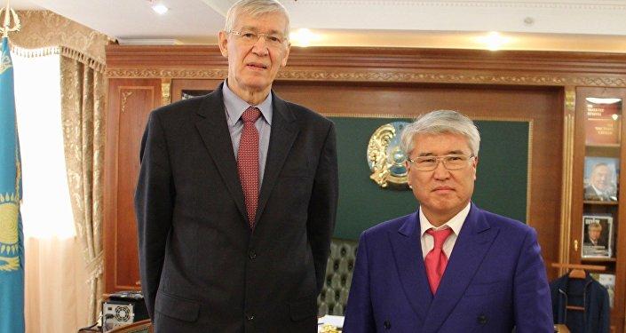 Министр культуры и спорта РК Арыстанбек Мухамедиулы