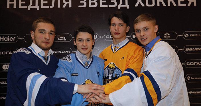 Молодые участники Матча звезд КХЛ