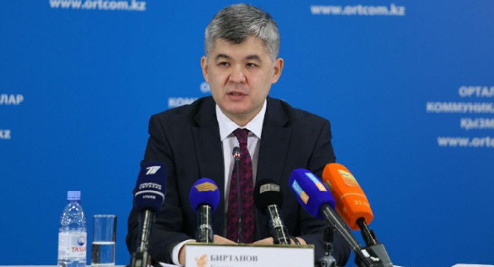 ҚР денсаулық сақтау министрі Елжан Біртанов