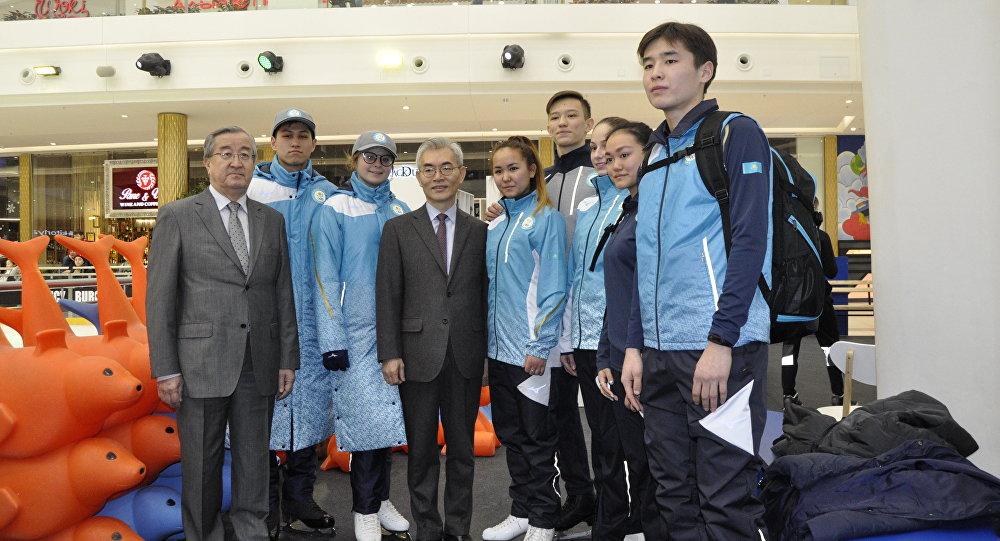 ВАстане презентовали форму сборной Казахстана назимних Олимпийских играх