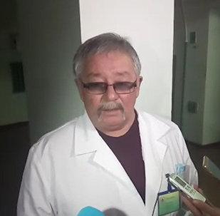 Пострадавших при пожаре в автобусе доставили в больницу Актобе
