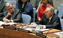 Выступление Нурсултана Назарбаева на заседании Совбеза ООН