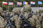 НАТО батальоны, архив фото