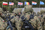 Батальон НАТО, архивное фото