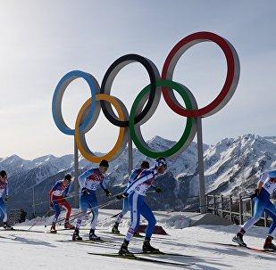 Зимняя Олимпиада, архивное фото