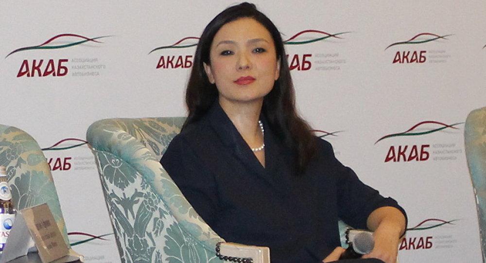 Вице-президент Ассоциации казахстанского автобизнеса Анар Макашева
