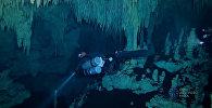 Самую большую на планете подводную пещеру нашли в Мексике