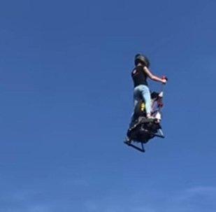 Прототип летающего сегвея представила французская компания